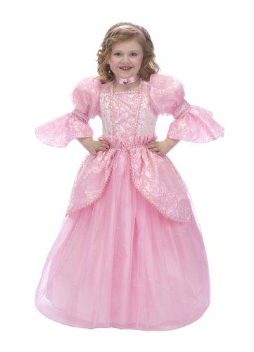 Pnks Costumes (Just Pretend Kids Pink Princess Costume with Hoop and Choker, Medium)