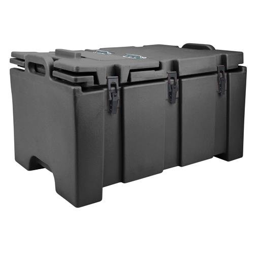 Cambro 100MPC110 Camcarrier Black Insulated Food Pan Carrier