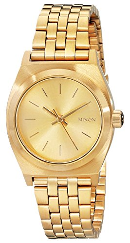 Nixon Women's A399502 Small Time Teller Bracelet Watch by NIXON
