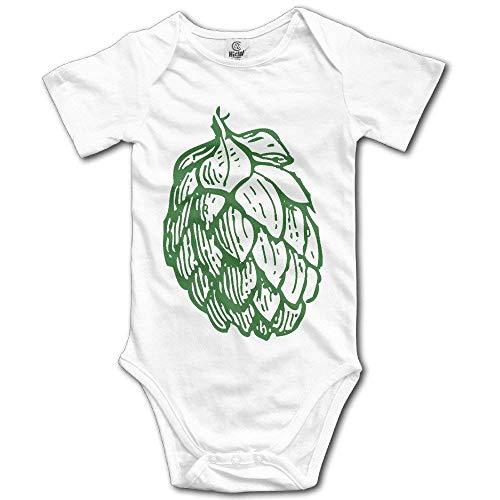 HATS NEW Beer Hops Cute Baby Onesie Bodysuit 0-3 Months