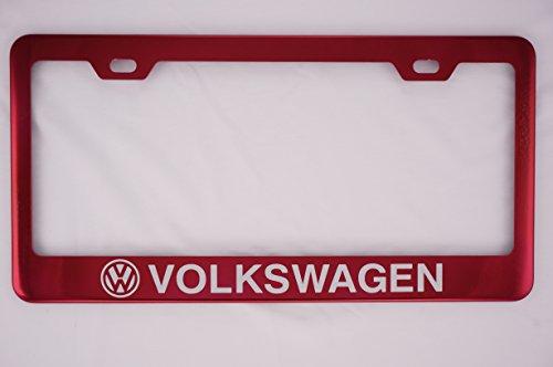 vw touareg license plate frame - 4