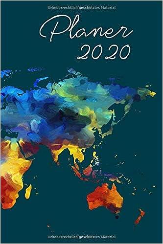 Planer 2020 Wochenplaner In 6 X9 Ca Din A5 Fur 2020 1 Woche