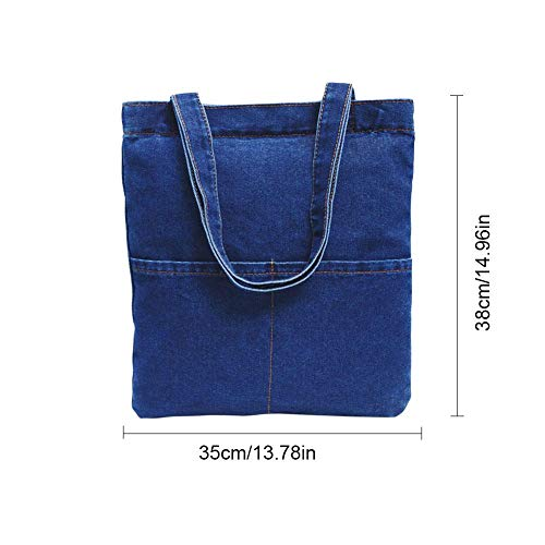 Femmes N 5 à Denim Style Main Occasionnel Retro ° Sac Sac Sac Tote Cabas iShine Jeans Bandoulière à Bag ax1dfUa