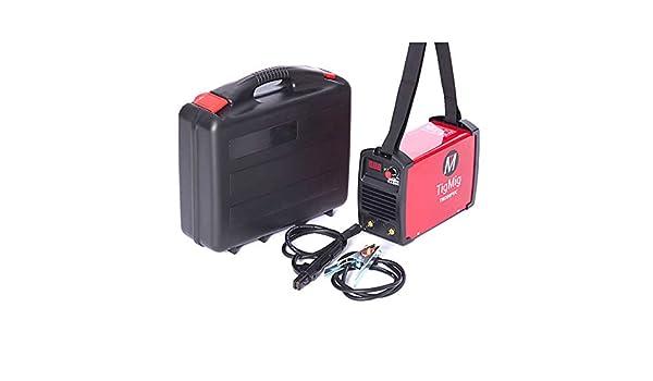 Tigmig - Soldador inverter de electrodos 200 Amp, Inverter TM 200 PVC: Amazon.es: Bricolaje y herramientas