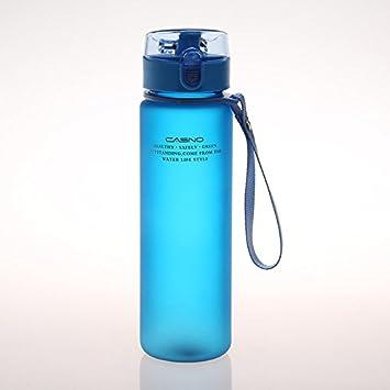 JYH botella de plástico para deportes al aire libre para bebidas, botella a prueba de