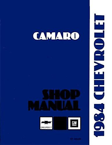 1984 camaro repair manual - 2