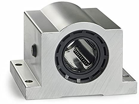 Closed Thomson SSU24 Super Smart Ball Bushing Bearing for end supported applications Class L self-aligning; use with 1.5 in Diameter Shaft