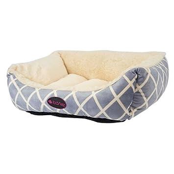 Ibañez Cama para Perros y Gatos Rombos Azul 62 x 53 x (alt.) 24 cm.: Amazon.es: Productos para mascotas