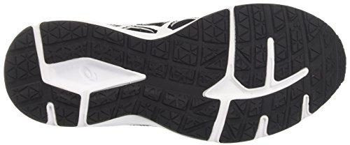 Patriot T669N Shoes Women's Asics Black 8 Black White White Running 4BwxPdXP