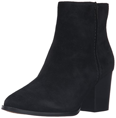 Bootie French Banji Black Connection Ankle Women's SwwYq8AOx