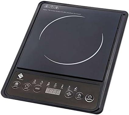 Placa de indución eléctrica individual placa de cocina (con ...