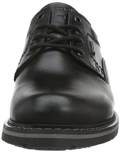 FRETZ men Scooter, Zapatos de Cordones Derby para Hombre Negro - Schwarz (51 Noir)