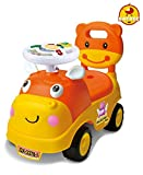 Baybee Hippo Ride-on Car (Pink-White)