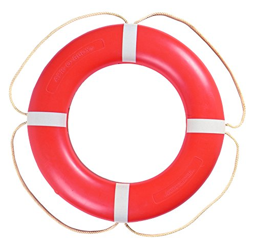 Taylor Made Products 570003 Aer-O-Buoy Canadian Coast Guard Approved Boat Life Ring (30'', Orange) by Taylor Made Products