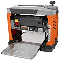 Ridgid ZRR4331 15 Amp 13 in. Bench Planer with 3-Blade Cutterhead (Certified Refurbished)