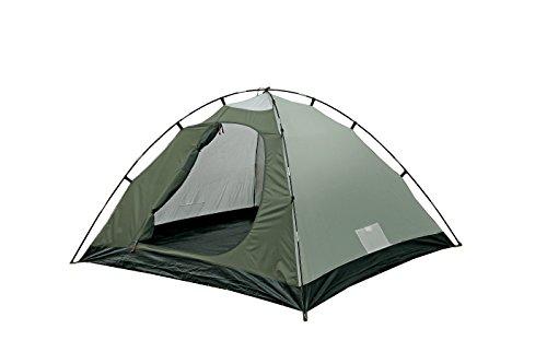 41uq85XU6NL High Peak Kuppelzelt Nevada 4, Campingzelt mit Vorbau, Iglu-Zelt für 4 Personen, doppelwandig, wasserdicht…