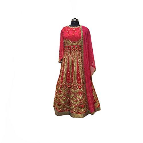 Designer Eid Muslim Women Indian Customized Anarkali Salwar Kameez Suit Ethnic Ceremony Wedding Party Wear 9116
