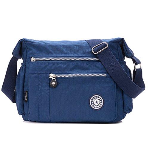 younuo-womens-waterproof-nylon-multi-zipper-pockets-small-cross-body-shoulder-bag-lightweight-satche