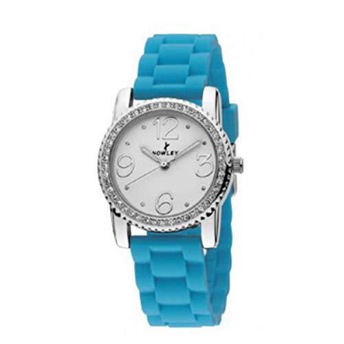Reloj NOWLEY analogico Correa de Silicona Azul 8-5235-0-8: Amazon.es: Relojes