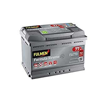 batterie voiture 77ah 760a