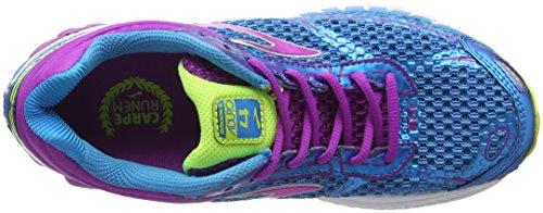 Multicolor violett Aduro Brooks Running Zapatillas Mujer blau De 4 Oqx4T