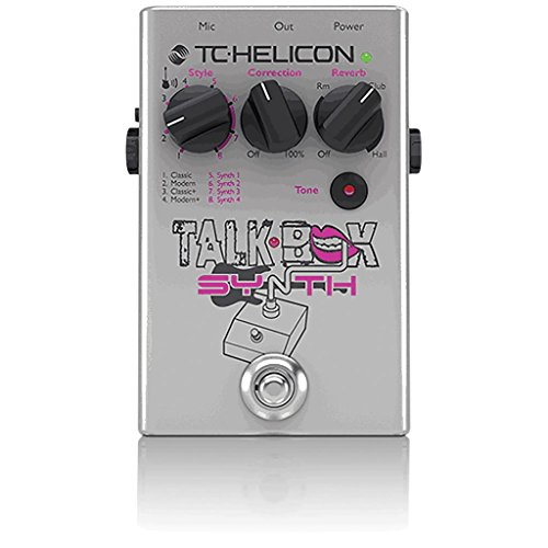 TC Helicon Talkbox Synth Guitar Talkbox and Synth Pedal w/Vocal Tone Polishing