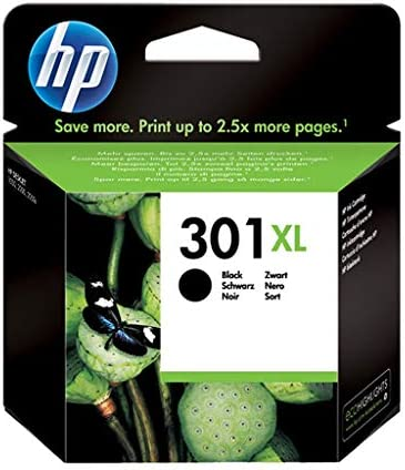 HP Pack de Ahorro de 2 Cartuchos de Tinta HP 301 XL Negro: Amazon.es: Informática