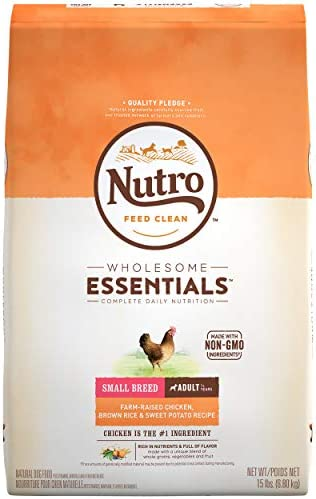 Nutro Wholesome Essentials Natural Adult Dry Dog Food for Small Toy Breeds