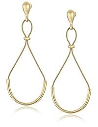 Diane von Furstenberg Gemma Gold Figure 8 Drop Earrings