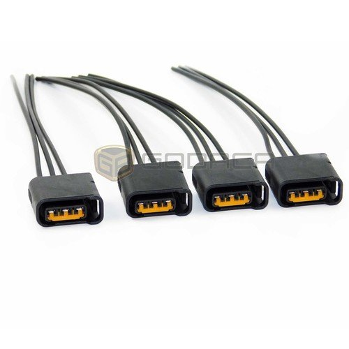 4x Connector for Ignition Coil Ignition Impreza Legacy: