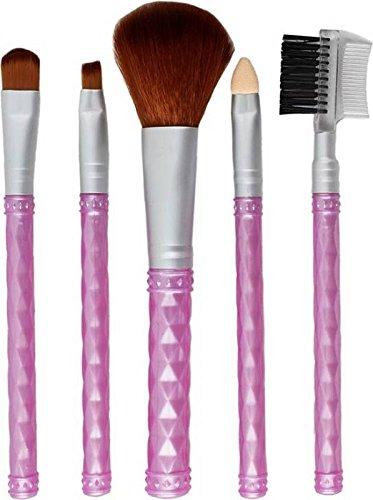 Styler Makeup Beauty Brush   Purple  Pack Of 5