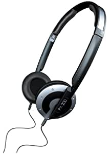 Sennheiser PX200 Collapsible High-Performance Closed Headphones (Black) (Discontinued by Manufacturer)
