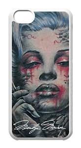 First Design Marilyn Monroe Smoking Unique Best Durable Apple iPhone 5c Case