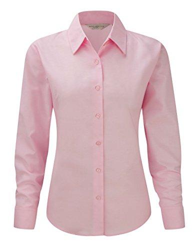 homme Oxford pour Pink manches Collection longues Entretien manches longues Rose Russell Classic femme facile pour Chemis' TzHvXTqwn