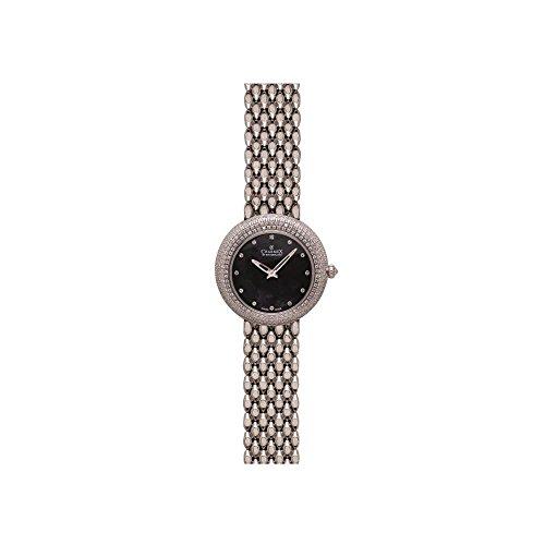Charmex Las Vegas 6311 35mm Silver Steel Bracelet & Case Synthetic Sapphire Women's Watch