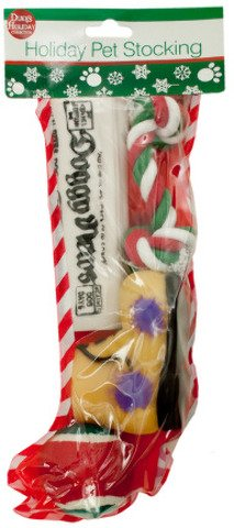 Christmas Stocking for Dogs by Sub-Gift (Puppy Gift Christmas)