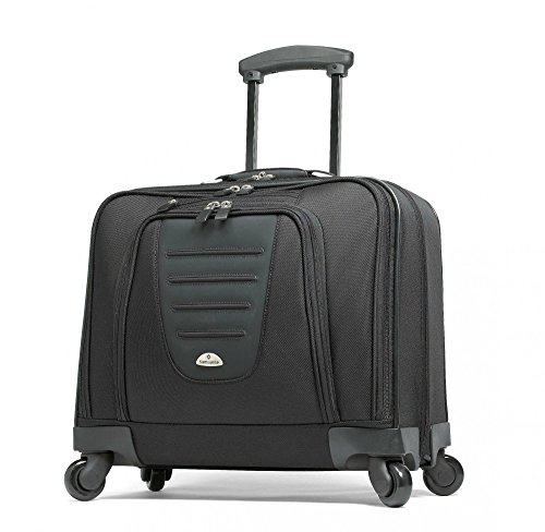 Samsonite Spinner Mobile Office in Wheeled Laptop Briefcase in Black by Samsonite