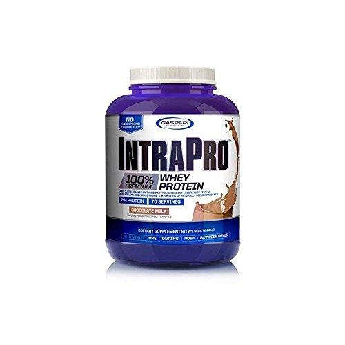 Gaspari Nutrition Mezcla de Proteínas y Aminoácidos Intrapro 100% Whey, Chocolate, 5 lb