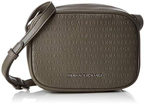 Mujer taupe Bag Exchange Bolsos Armani Crossbody Marrón Bandolera Small YFqx4