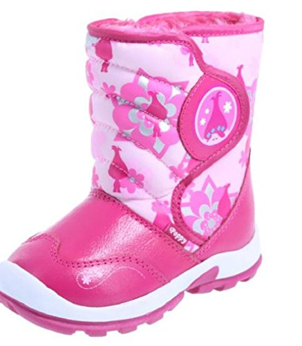 Trolls Poppy Girls Snow Boots Winter Weather Boot