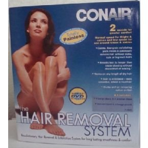 Conair The Hair Removal / Exfoliating System with HOW-TO DVD