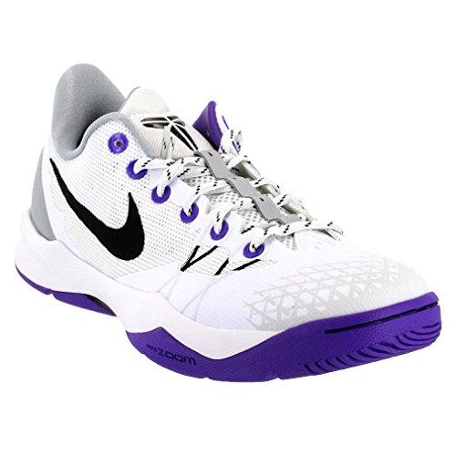 uk availability c9d2c 3fe1e Nike Mens Zoom Kone Venomenon 4 Basketball Shoes (White/Black-Wolf Grey-Prplnm)  9.5 - Buy Online in Oman. | Apparel Products in Oman - See Prices, ...