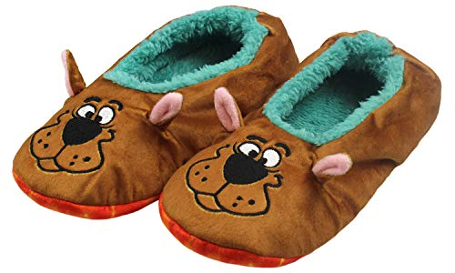 Scooby Doo Slippers With Tie Dye Mystery Machine No-Slip Sole Slipper Socks For Women Men (S/M)