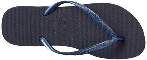 0555 Tongs Marine Havaianas bleu Slim Bleu Femme fFqWZqY