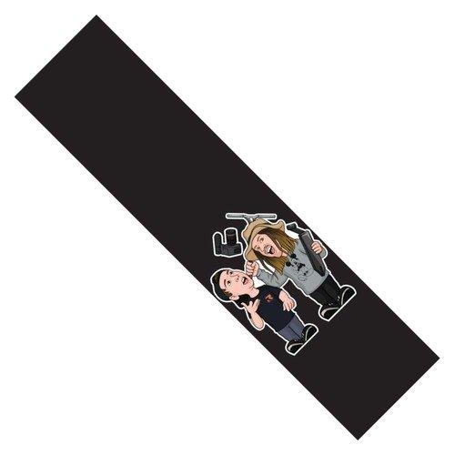 FIGZ Duo Grip Tape 4.60W X 19.75L