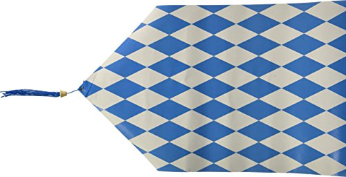 Printed Oktoberfest Table Runner Party Accessory (1 count) (1/Pkg) (Oktoberfest Table Decorations)