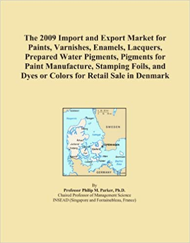 Book The 2009 Import and Export Market for Paints, Varnishes, Enamels, Lacquers, Prepared Water Pigments, Pigments for Paint Manufacture, Stamping Foils, and Dyes or Colors for Retail Sale in Denmark