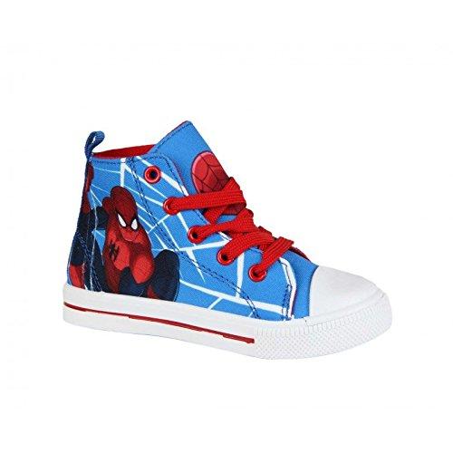 Sneaker Canvas–Spiderman–Jungen–Blau und Rot