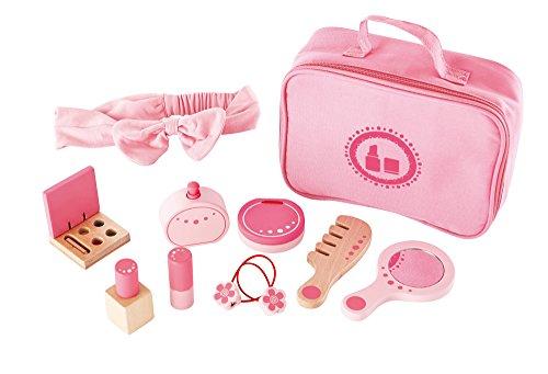 Award Winning Hape Beauty Belongings Kid's Wooden Cosmetics Pretend Play Kit -