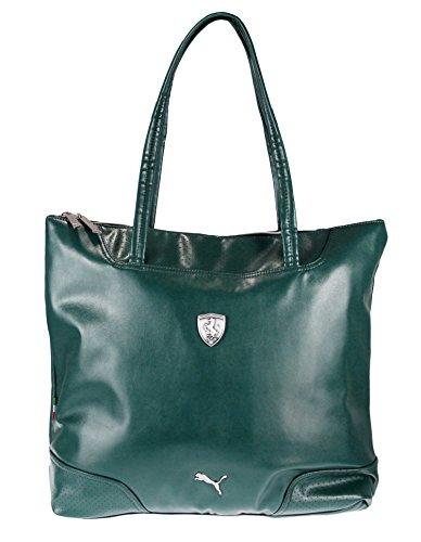 Puma Womens Ferrari (PUMA Women's Ferrari Long Sleeve Shopper, Green)